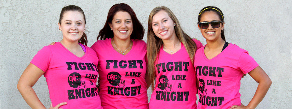 """OC """"Fight Like a Knight"""" Battle Against Breast Cancer"""