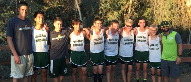 Boys Cross country to compete in CIF Finals!