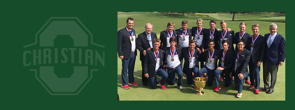 William Mouw and Team USA win the Junior Presidents Cup!